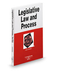 Legislative Law and Process in a Nutshell