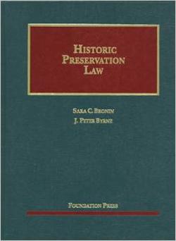 Bronin and Byrne's Historic Preservation Law