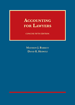 Barrett and Herwitz's Accounting for Lawyers, Concise 5th