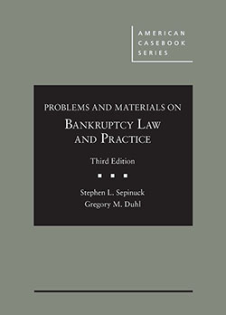Sepinuck and Duhl's Problems and Materials on Bankruptcy Law and Practice, 3d