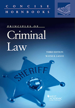 Cover Art: Principles of Criminal Law