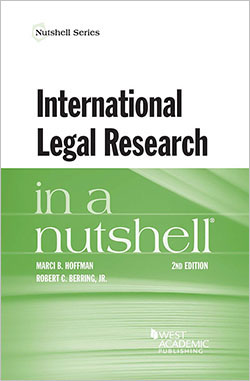 Hoffman and Berring's International Legal Research in a Nutshell, 2d