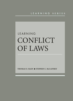 Learning Conflict of Laws cover art