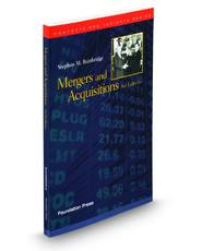 Mergers and Acquisitions, 3d