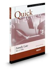 Sum and Substance Quick Review of Family Law