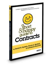 A Short & Happy Guide to Contracts