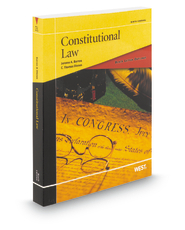 Black Letter Outline on Constitutional Law