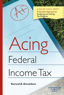 Donaldson's Acing Federal Income Tax