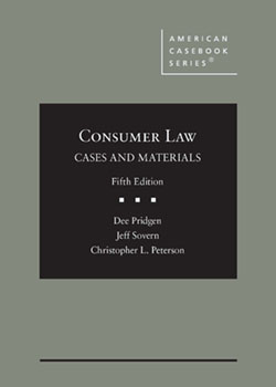 Pridgen, Sovern, and Peterson's Consumer Law, Cases and Materials, 5th