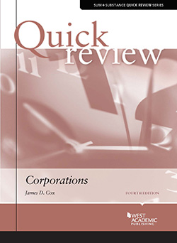 Cox's Sum and Substance Quick Review on Corporations, 4th
