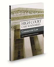 High Court Case Summaries on Commercial Law Keyed to Whaley