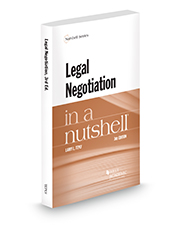 Legal Negotiation in a Nutshell